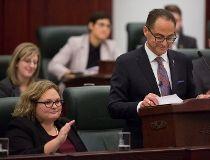 Finance Minister Joe Ceci