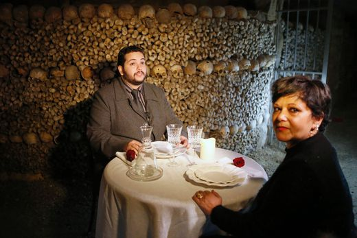 Contest winner spends Halloween sleepover in spooky Paris