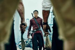"Daniel Wu in ""Into the Badlands."""