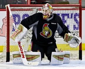 Ottawa Senators goalie Andrew Hammond. (Ottawa Sun Files)