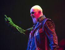 Judas Priest lead singer Rob Halford performs at the Air Canada Centre in Toronto on Thursday, Nov. 12, 2015. (ERNEST DOROSZUK/Toronto Sun)