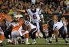 Houston Texans quarterback T.J. Yates gestures during a NFL football game at Paul Brown Stadium in Cincinnati on Nov. 16, 2015. (Kirby LeeéUSA TODAY Sports)