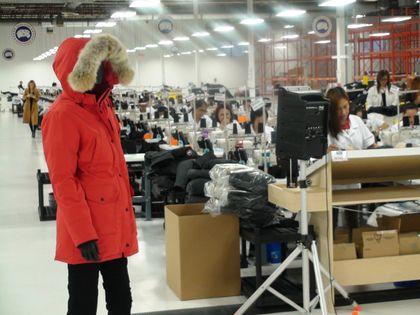 canada goose toronto factory jobs