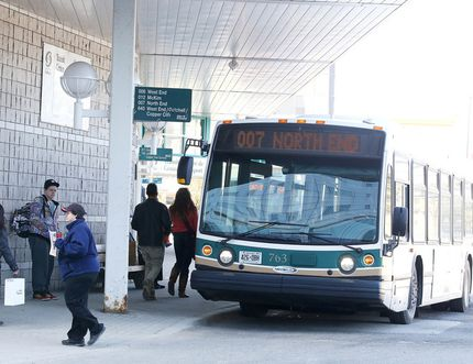 The Greater Sudbury Transit Terminal. File photo