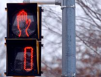 Pedestrian crosswalk signal in Toronto. (Dave Abel/Toronto Sun files)
