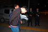 Turkish police detain Ahmad Dahmani, in Antalya, Turkey, late Friday, Nov. 20, 2015. (DHA via AP)