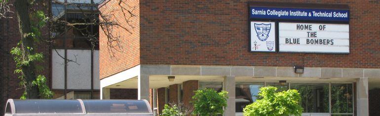 Sarnia Collegiate Institute and Technical School (Observer file photo)