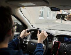 An Uber driver (POSTMEDIA NETWORK)