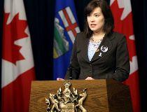 Alberta Justice Minister Kathleen Ganley