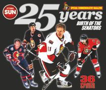 Sens 25 Years