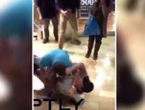 Black Friday brawls in U.S.
