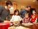 Laura and Mark Gregorini prepare dinner with their children, Chiara, 5, Tommaso, 2, and Alessandro, 7. Gino Donato/Sudbury Star