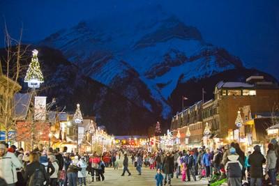 Banff does a wonderful job with the Santa Claus Parade of Lights every Christmas season. (Photo courtesy Banff Santa Claus Parade of Lights)