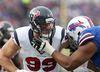 Houston Texans defensive end J.J. Watt rushes the quarterback against the Buffalo Bills at Ralph Wilson Stadium. (Timothy T. Ludwig/USA TODAY Sports)