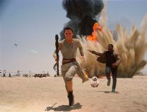 Star Wars opens next week.