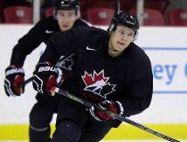 Joe Hicketts at Team Canada practice in Toronto ahead of the world junior on December 10, 2015. Craig Robertson/Toronto Sun/Postmedia Network