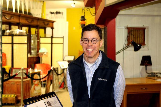 Charles Taws, new curator of the Grande Prairie Museum.  Jocelyn Turner/Grande Prairie Daily Herald-Tribune/Postmedia Network