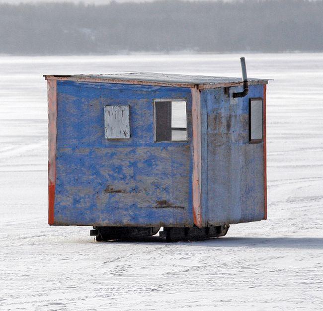 Ice hut. Postmedia Network file photo