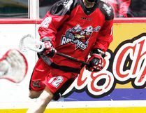 Sean Pollock of Port Lambton played for the Calgary Roughnecks during the 2015 season in the National Lacrosse League. (BRAD WATSON/Courtesy of Calgary Roughnecks)