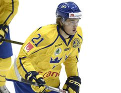 Sweden's William Nylander waits for pass during their ice hockey friendly match prior the 2016 IIHF World Junior U20 Ice Hockey Championships tournament in Helsinki, Finland, Dec. 23, 2015. REUTERS FILE/Heikki Saukkomaa/Lehtikuva