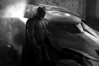 Ben Affleck seen here as the Dark Knight in Batman v Superman: Dawn of Justice.