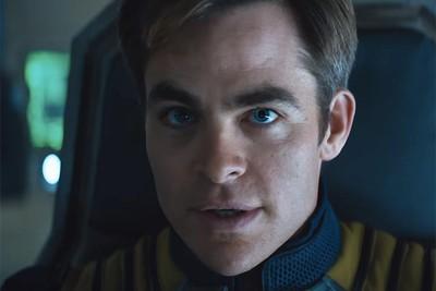 Chris Pine returns as Capt. Kirk in Star Trek Beyond opening July 22, 2016.