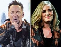 Bruce Springsteen Coldplay Adele