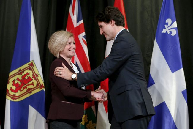Trudeau notley