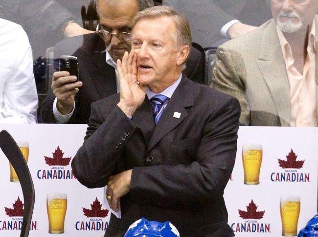 Team USA head coach Ron Wilson. REUTERS/Fred Thornhill