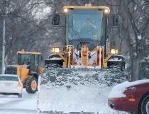 Snow plow filer