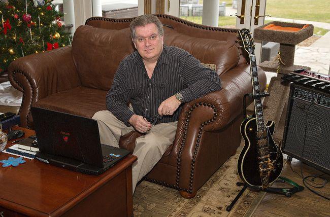 Michael Mitton, president of Mitton Valve Technology. (Brian Thompson/The Expositor)