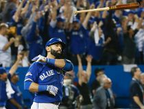 Bautista bat flip