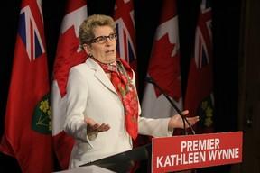 Premier Kathleen Wynne at Queen's Park on Jan. 11, 2016. (Antonella Artuso/Toronto Sun)