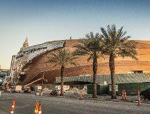 Photo of the back of Las Vegas' new arena. (Chris Holloman Photography)