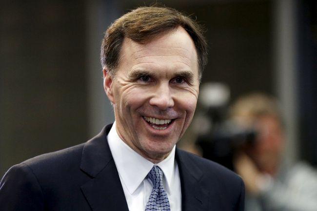 Minister of Finance Bill Morneau. REUTERS/Blair Gable