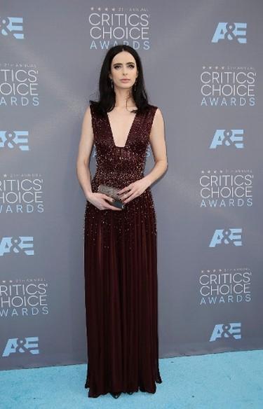 Actress Krysten Ritter arrives at the 21st Annual Critics' Choice Awards in Santa Monica, California January 17, 2016.  REUTERS/Danny Moloshok
