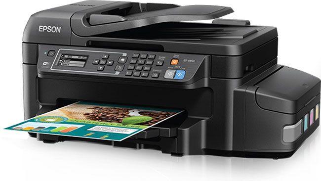 EcoTank SuperTank ET-4550 printer. (Supplied)