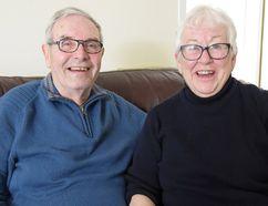 Sam and Margaret Patterson, Tillsonburg. (CHRIS ABBOTT/TILLSONBURG NEWS)