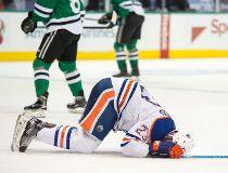 Edmonton Oilers center Matt Hendricks injured groin