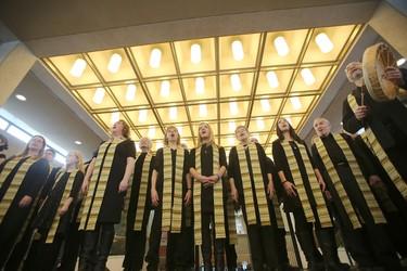 Winnipeg Mayor Brian Bowman staged a celebration of diversity at City Hall Friday.
