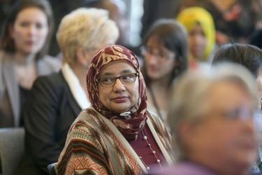 Winnipeg's mayor staged a celebration of diversity at City Hall Friday.