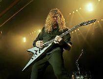 Megadeth leader Dave Mustaine