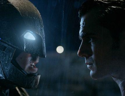 """(L-r) Ben Affleck as Batman and Henry Cavill as Superman in """"Batman v Superman."""""""
