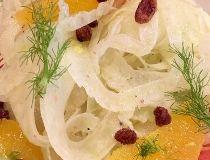 Fennel & citrus salad.