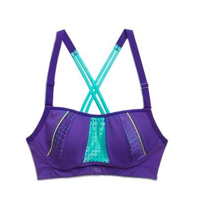 <B>Models:</b> Alessandra Ambrosio, Behati Prinsloo, Lilly Aldridge<BR> <B>Workout:</b> Pilates, cardio, and barre<BR> <B>Bra:</b> The Angel Strappy Sport Bra,$55.50 - A soft feel, adjustable straps and breathable fabrics.