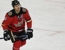 Calgary Flames player Dennis Wideman (Al Charest/Postmedia)