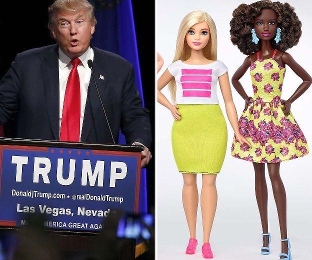 trump barbie