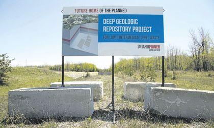 repository site near Kincardine