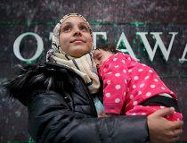 Refugees Ottawa arrival