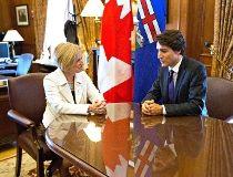 Rachel Notley, Trudeau